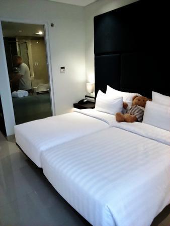 standard room twin picture of grandia hotel bandung tripadvisor rh tripadvisor co za