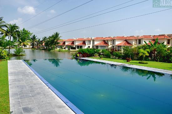 residential infinity pool.  Pool Vedic Village Spa Resort Aqua  Infinity Pool In Residential