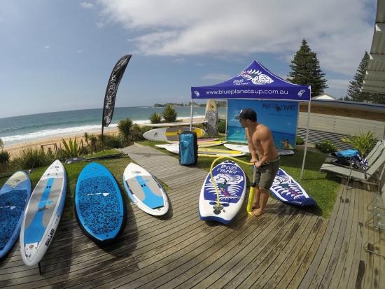 Blue Planet Surf: Quality equipment