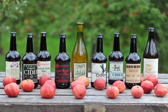 Pembridge, UK: Dunkertons Organic Cider and Perry Range