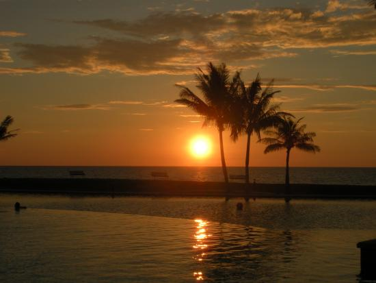 Kampong Jerudong, سلطنة بروناى: ホテル内素敵な夕日