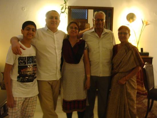 Tej Abode: Family reunion.