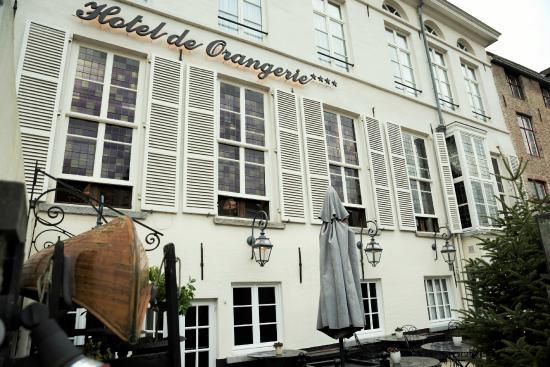 Hotel de Orangerie: Terras