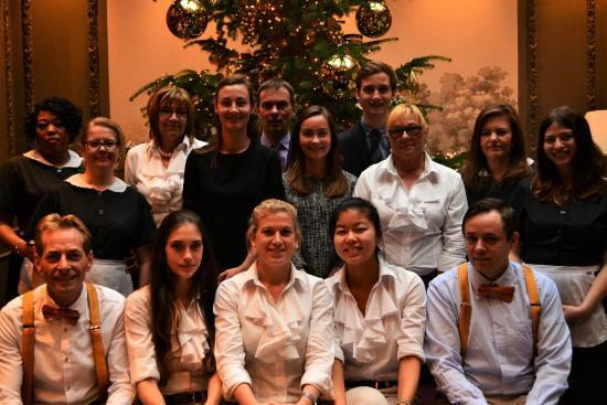 Hotel de Orangerie: Orangerie Team