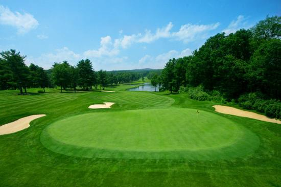 Toftrees Golf Resort: Hole Nine