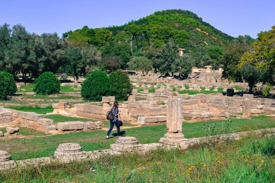 Olimpia antica (Archaia Olympia): Überblick