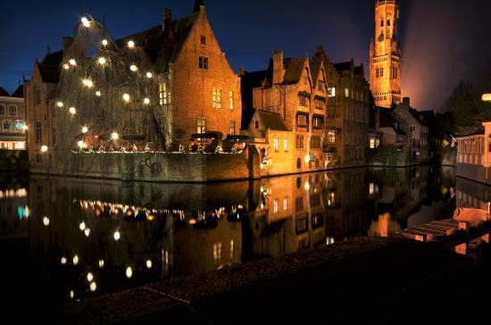 Hotel de Orangerie: Bruges during Christmas time