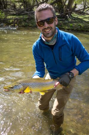 Southern Rivers Fly Fishing: Brown Trout!