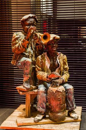 African Pride Melrose Arch Hotel: Hotel art