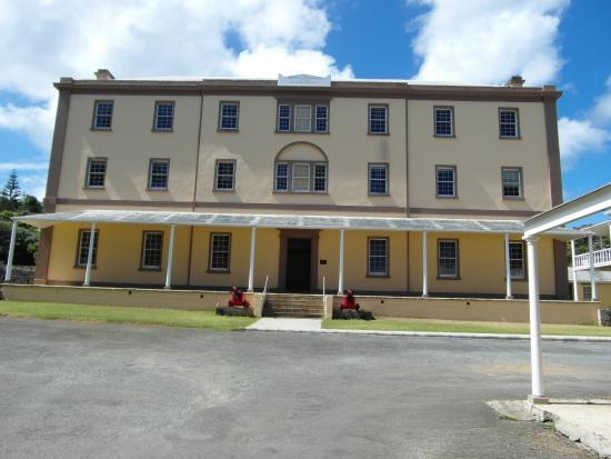 Old Kingston Town: The Main Administrative Building