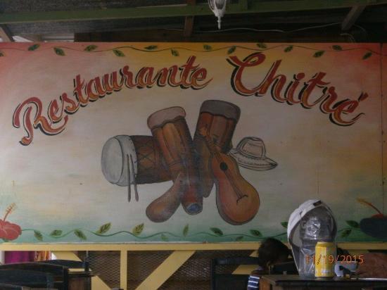 El Chitre: Restaurante Chitré