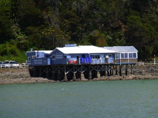 Mangonui Fish Shop: Taken from Butler's