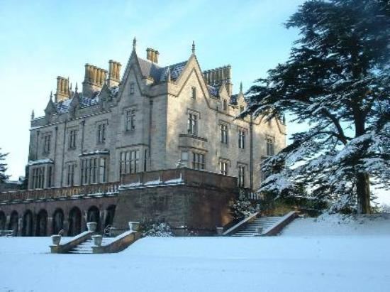 Lilleshall in the snow
