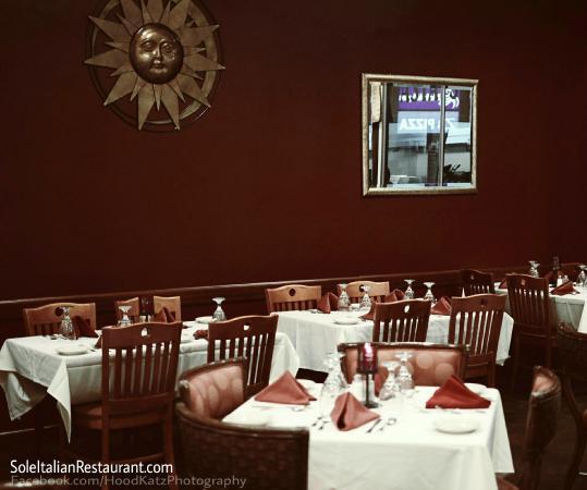 Sole Italian Restaurant Www Facebook Soleitalianrestaurant
