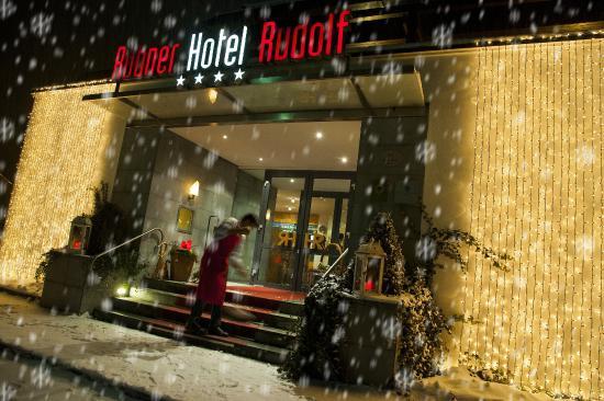 Rubner Hotel Rudolf: Eingang