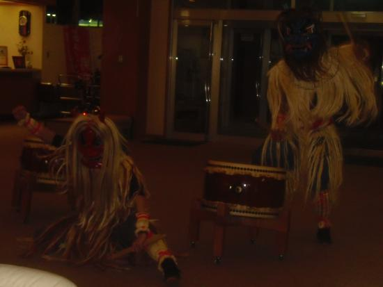 Oga Kanko Hotel: なまはげ太鼓