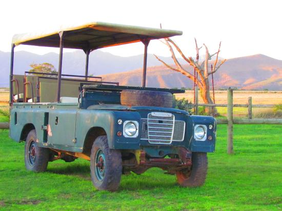 The Baroness Luxury Safari Lodge: Our trusty steed!