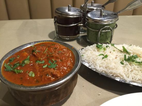 Lamb vindaloo with basmati rice picture of mantra indian - Mantra indian cuisine ...