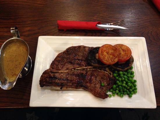 how to cook t bone steak uk