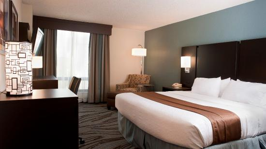 ‪‪Rock Island‬, إلينوي: Holiday Inn Rock Island - Quad Cities - King Bed Guest Room‬