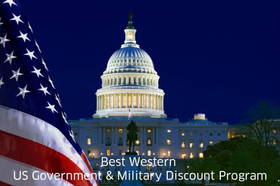Best Western Regency House Hotel: Government & Military