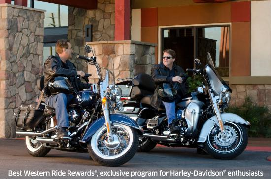 Best Western Regency House Hotel: Ride Rewards