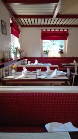 Quickborn, Duitsland: Im Restaurant