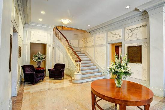 Southbridge, MA: Grand Staircase