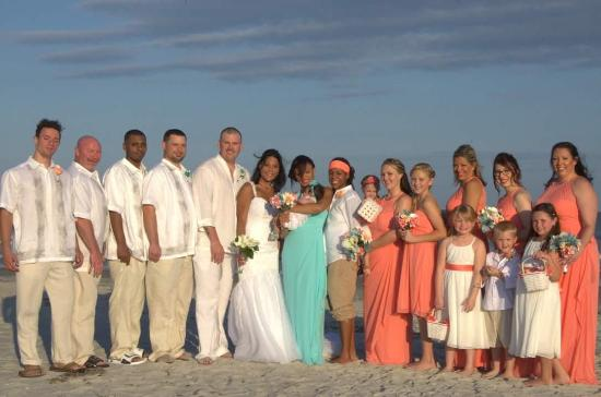 Doubletree By Hilton Hotel Cocoa Beach Oceanfront Hilner Wedding