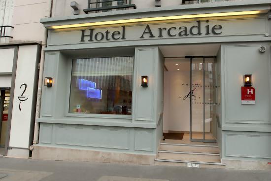 Arcadie Montparnasse: Façade