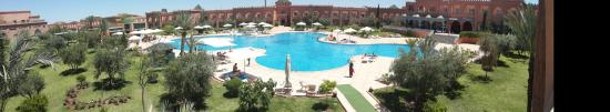 Mogador Palace Agdal: view from my room