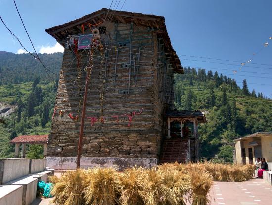 Kharsali Shani Temple