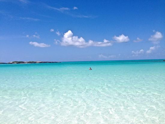 Out Islands: Clearest water I have ever seen