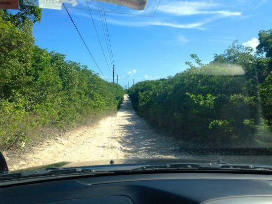 Out Islands: Make sure you drive slow and have a spare just incase!