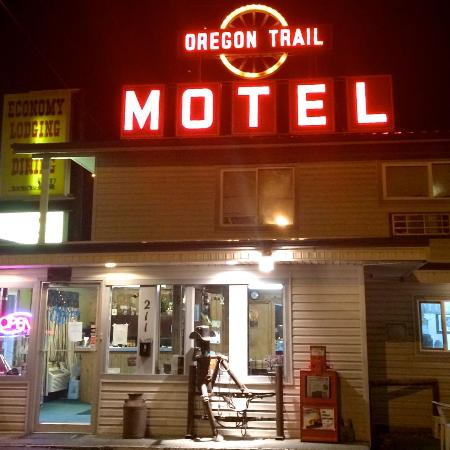 Oregon Trail Motel was like a lighthouse to me!