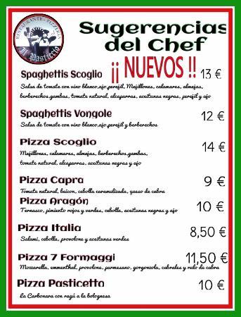 Il Pasticio : Nuevos platos!!