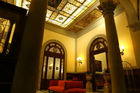 Lobby picture of nh collection firenze porta rossa - Porta rossa hotel florence ...