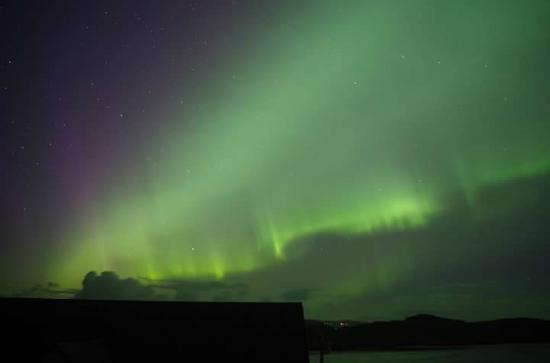 Edinbane, UK: The Northern Lights