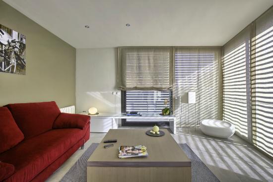 Apartamentos Terraza Figueres: Salón