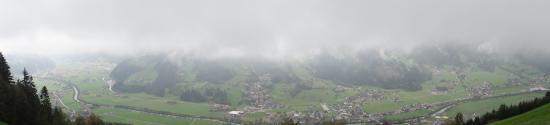 Kaltenbach, Austria: Aussicht von oben
