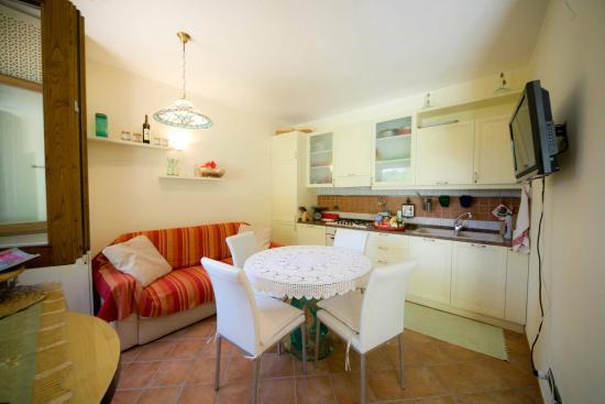 Soggiorno/cucina del mini appartamento - Bild von B&B Il Bughetto ...