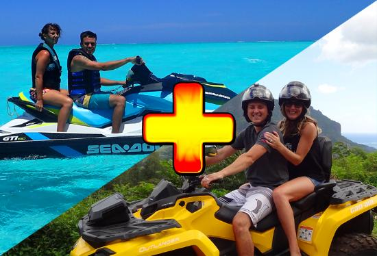Papetoai, French Polynesia: Moorea Activities Center | Jetski/Waverunner | Atv/Quad | Boat/Bateau | Whale Watching/Baleines