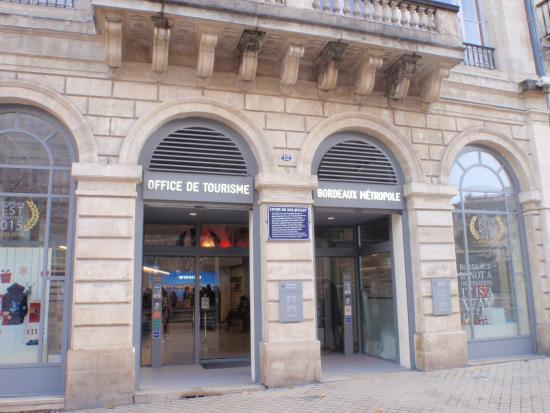 Office de tourisme de bordeaux picture of office de - Office de tourisme bordeaux recrutement ...