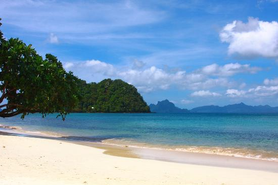 Marimegmeg Beach Palawan Philippines
