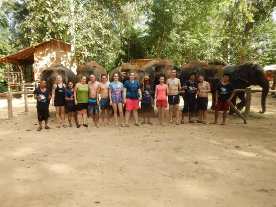 Провинция Канчанабури, Таиланд: Group picture