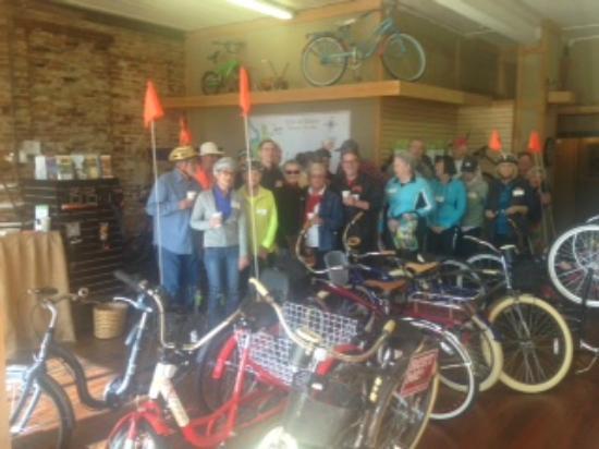 The Pedaling Pig: Bike Club Visit