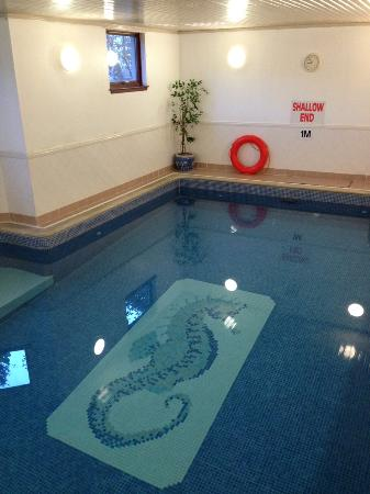 The Hotel Broughty Ferry: A gorgeous indoor pool — highly recommended!