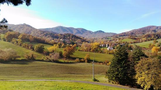 Pieve Romanica di San Giovanni in Contignaco: panorama