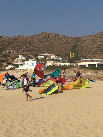 Mikri Vigla, Grecia: Aktywności na plaży