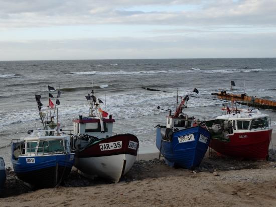 Jaroslawiec, โปแลนด์: Kutry rybackie